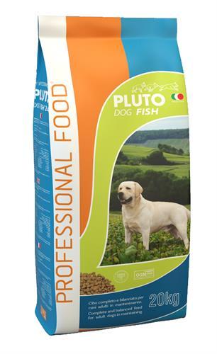פלוטו פלוס דגים מזון לכלב 20 ק״ג