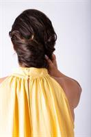 שמלת אליס מקסי צהוב בננה