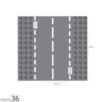 בלוקר משטח כבישים 25.5*25.5