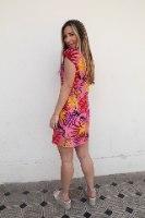 שמלת לילי טרופי