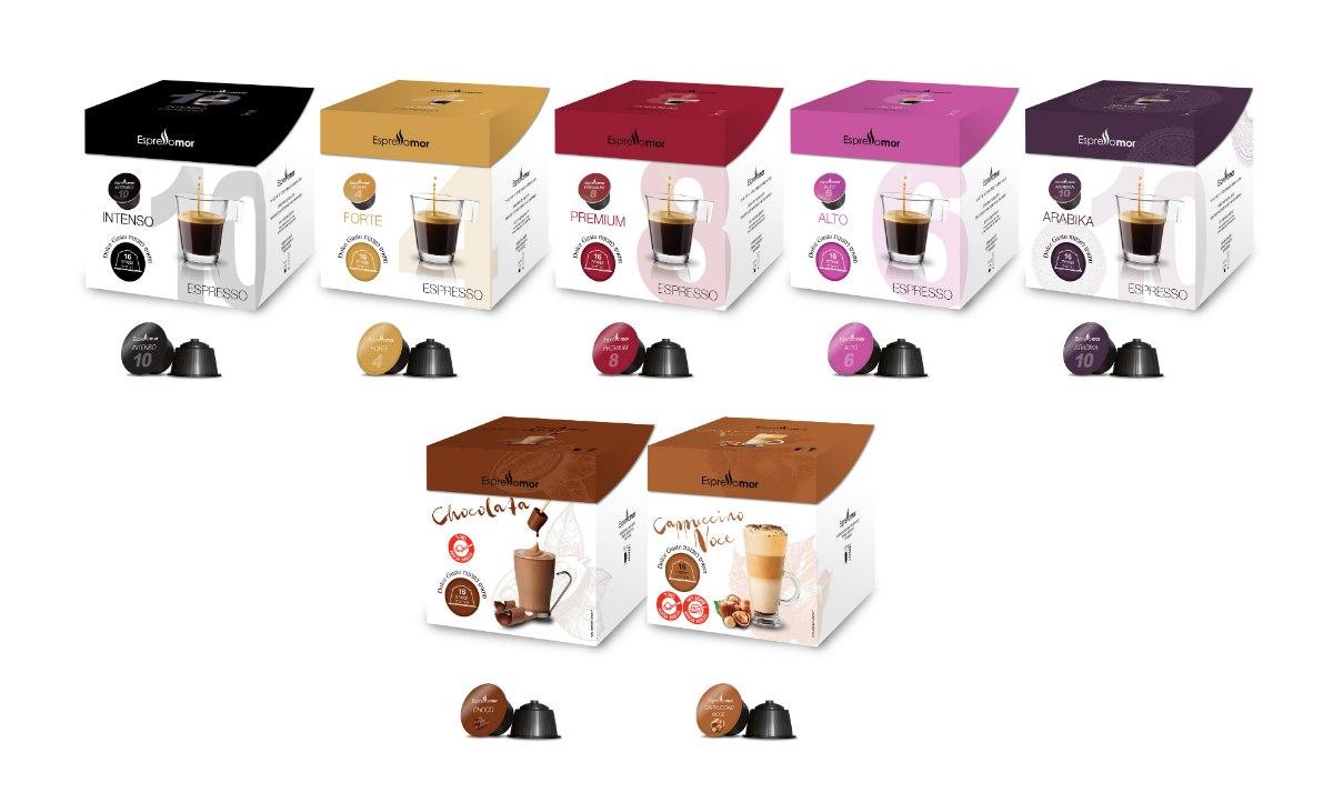 320 קפסולות תואמות MIX - משולב קפה ומשקאות Nescafe Dolce Gusto