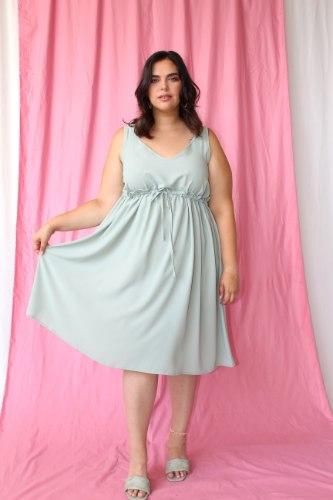 שמלת קארדי פיסטוק