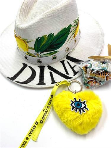כובע lemon