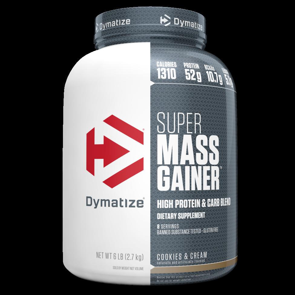 """דיימטייז סופר מס גיינר 2.7 ק""""ג - Dymatize Super Mass Gainer"""