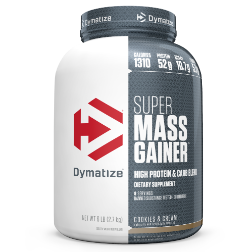 "דיימטייז סופר מס גיינר 2.7 ק""ג - Dymatize Super Mass Gainer"