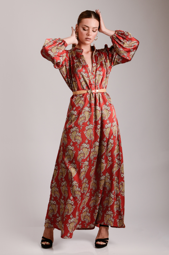 שמלת לילוש אדום