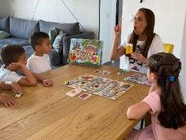 טירת ההרפתקאות - משחק ללימוד אותיות, תנועות ולרכישת קריאה