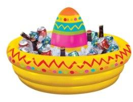 מצוף מקסיקני מגש מתנפח למסיבות ובריכה