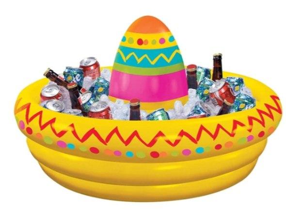 מצוף מקסיקני מתנפח למסיבות ובריכה