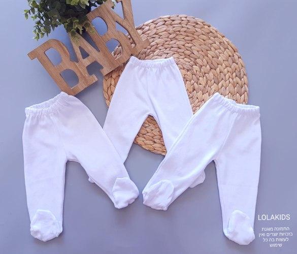 מארז 3 מכנסי רגליות דגם 801