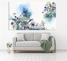 תמונה צבעי מים כחולים