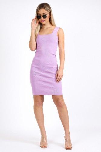שמלה לין סגולה