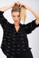חולצת מייגן שחור