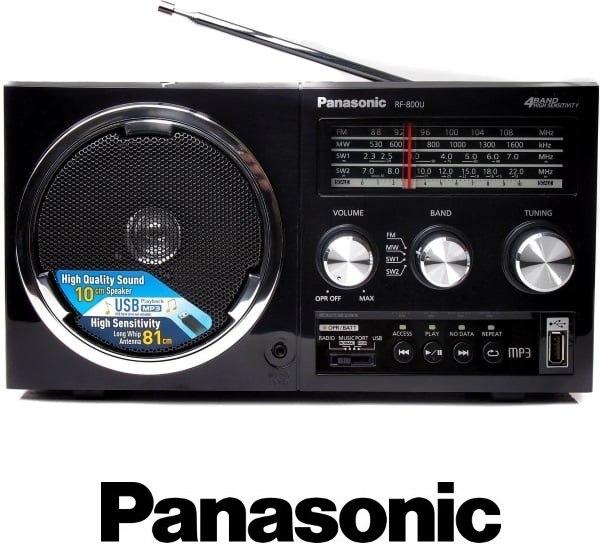 Panasonic רדיו בסגנון רטרו+USB דגם RF800U