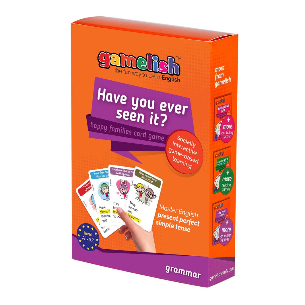 משחק gamelish דקדוק - Have you ever seen it? - לתרגול הווה מושלם פשוט