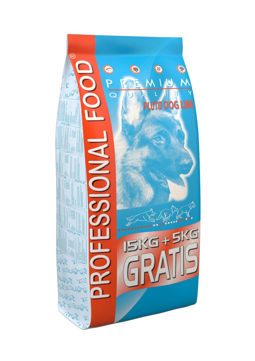 פלוטו מזון לכלב 20 ק״ג