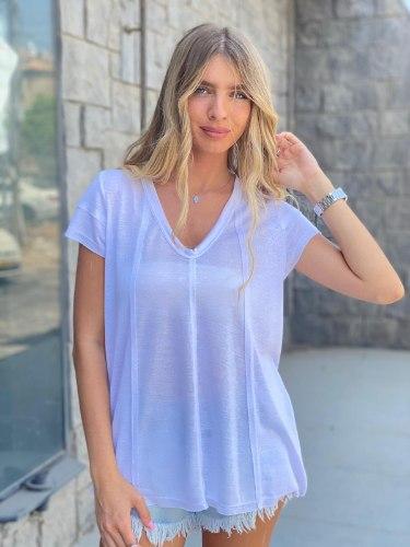 חולצת אמילי לבן THOMAS
