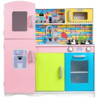 DTY7834 - מטבח מעץ צבעוני לילדים דגם עמית, צעצועץ