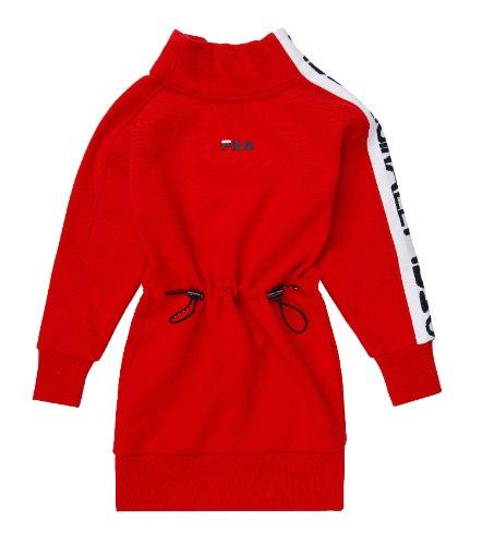 שמלת פוטר כיווצים אדומה FILA - מידות 4 עד 16 שנים