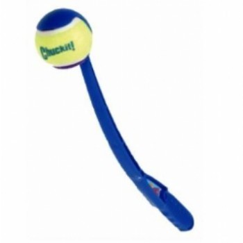 משחק לכלבים כדור טניס ומקל זריקה