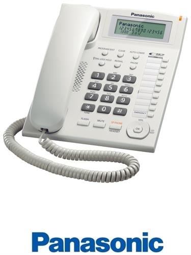 Panasonic טלפון שולחני חכם דגם  KX-TS880MXW