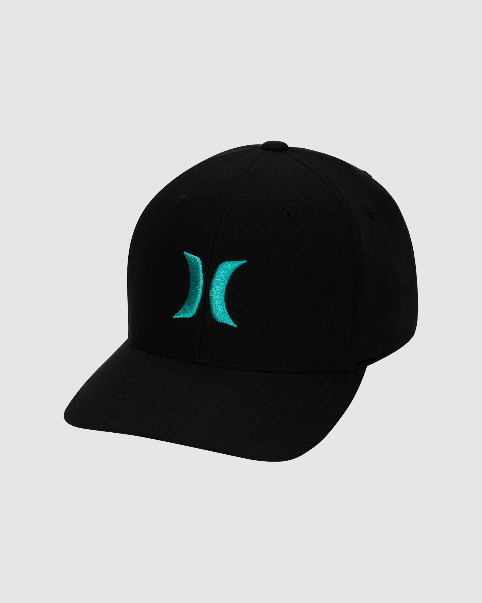 Hurley Dri-Fit One and Only Hat - Black / NEPTUNE GREEN