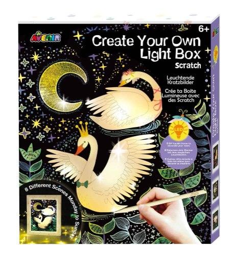 ערכה להכנת מנורת לילה - 8 דוגמאות