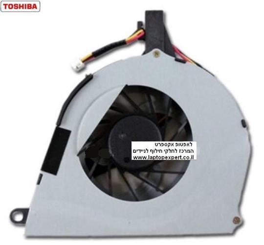 מאוורר למחשב נייד טושיבה Toshiba Satellite L650 L650D L655 L655D CPU Cooling FAN AB8005HX-GB3