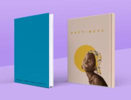 מארז 5 מחברות כריכה קשה- Happiness