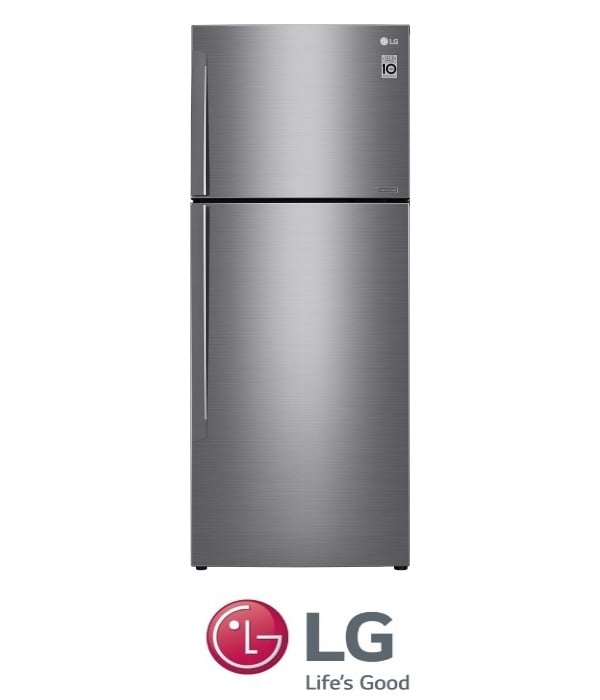 LG מקרר מקפיא עליון דגם GR-B486INVS