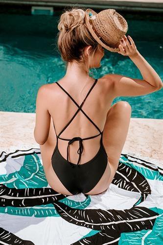 בגד ים שלם - מיאמי שחור