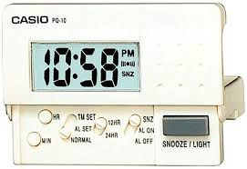 שעון מעורר דיגיטלי קסיו CASIO PQ10