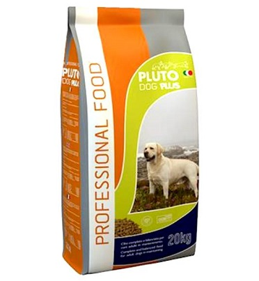 פלוטו פלוס מזון לכלב 20 ק״ג בשר