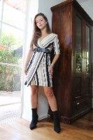 שמלת נועה פסים