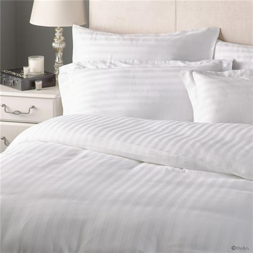 סט לבן סטן  100% כותנה בצפיפות 300 חוטים לאינץ לבתי מלון יוקרתי כותנה מצרית