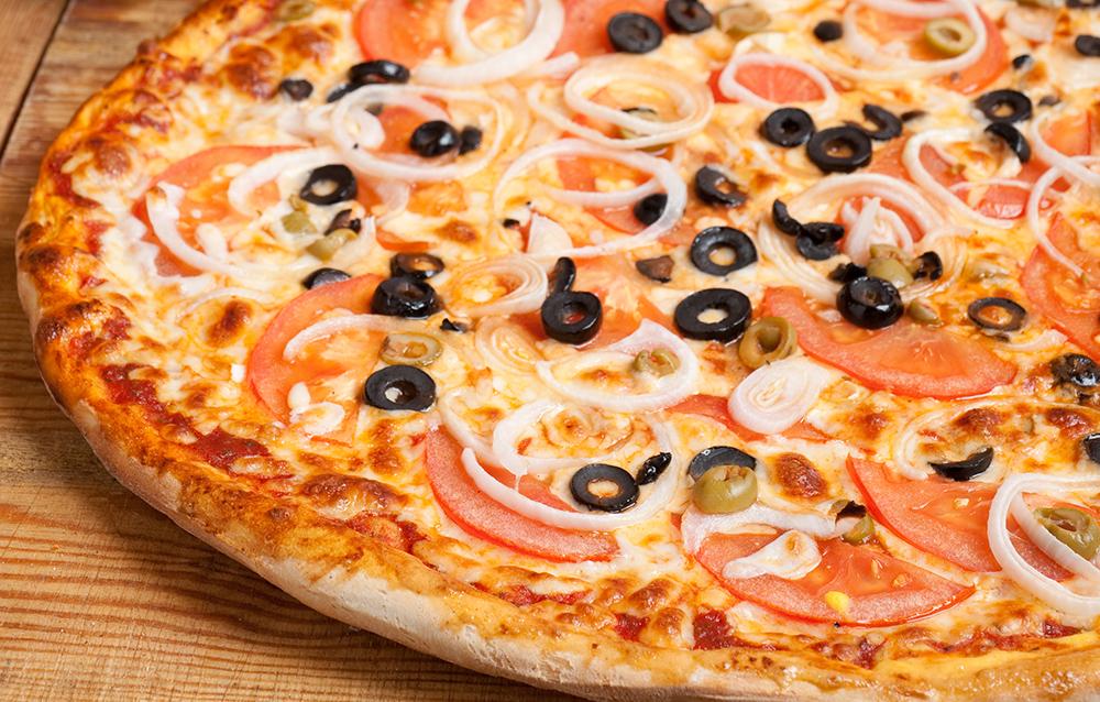 פיצה טבעונית משפחתית L