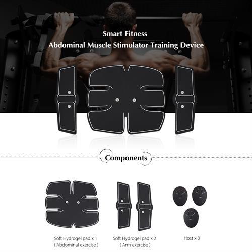מכשיר כושר EMS עיסוי שרירי בטן חכם ומקצועי