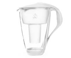 קנקן סינון מים זכוכית DAFI עם לד