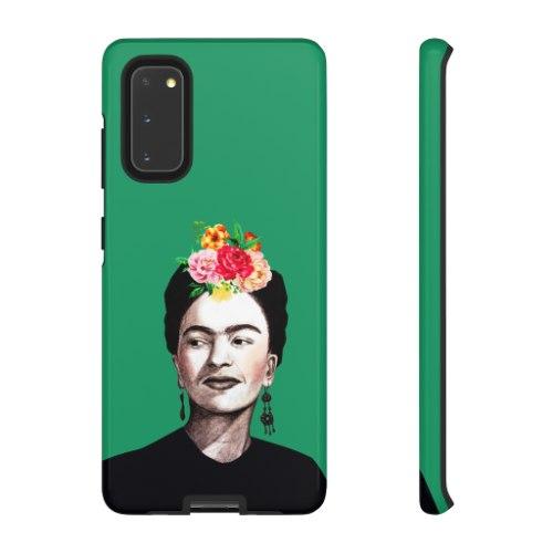 מגן לטלפון נייד - פרידה קאלו ירוקה