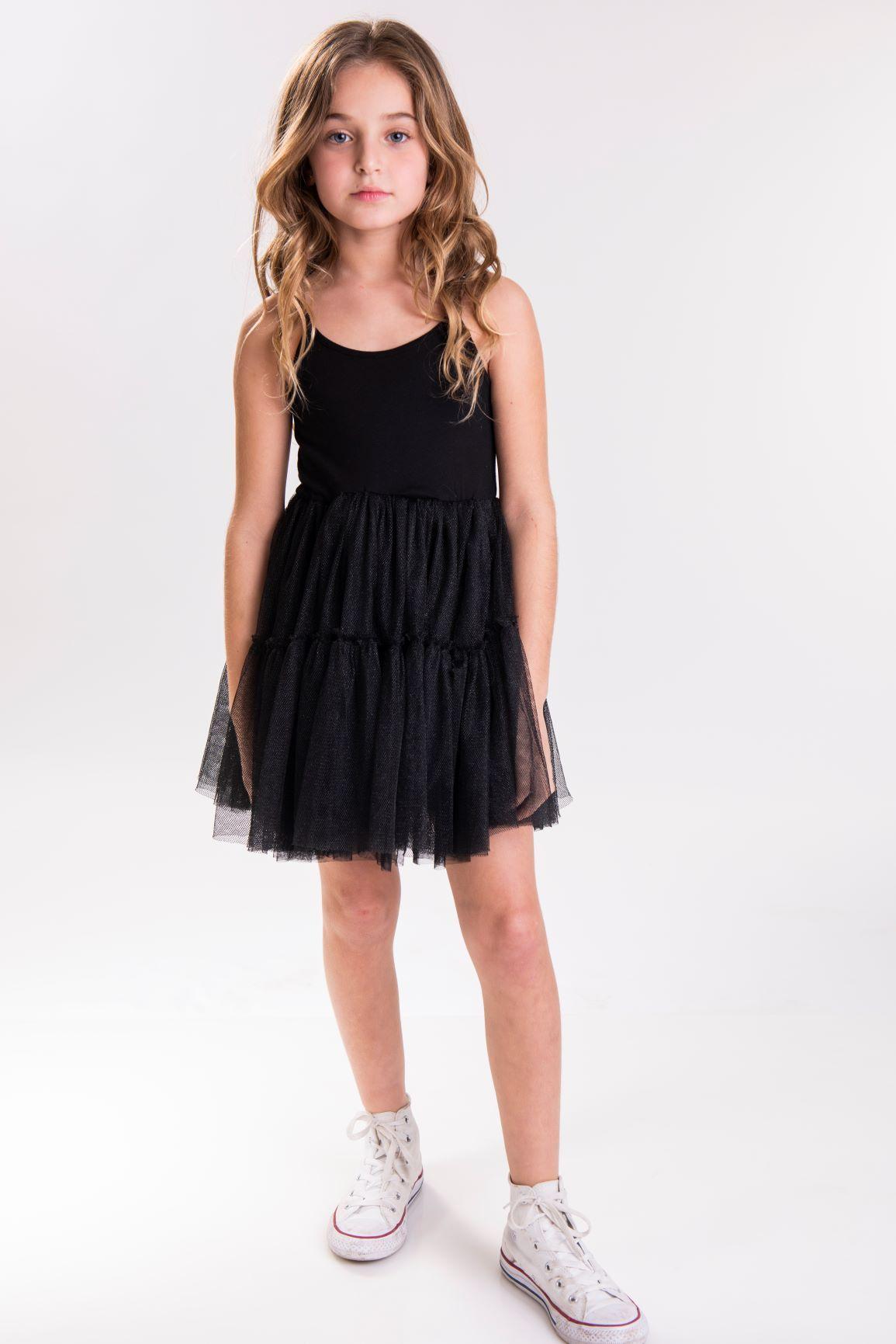 שמלת GAIA שחור מנצנץ