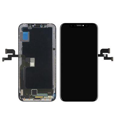החלפת מסך LCD+מגע Apple iphone X אפל