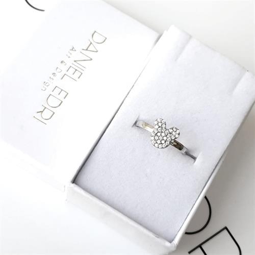 טבעת מיקי מאוס משובצת
