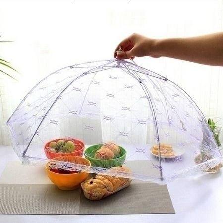 מכסה מזון חכם בצורת מטרייה