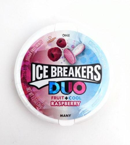Ice Breakers סוכריות מרעננות בטעם פטל