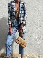 ג'ינס גוני גזרה ישרה