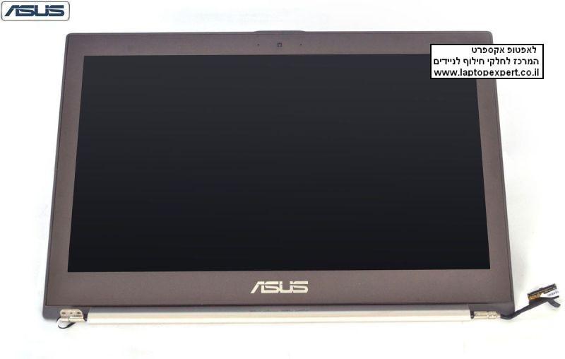 קיט מסך למחשב נייד כולל גב ומסגרת מסך כולל ציריות וכבל מסך לנייד אסוס ASUS ZenBook Ultrabook UX32 UX32VD UX32A Screen Assembaly