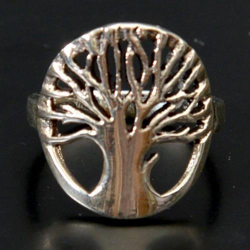טבעת כסף אץ החיים RG5152