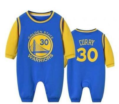 חליפת כדורסל תינוק גולדן סטייט סטף קרי