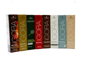 צבע לשיער IGORA ROYAL מבית Schwarzkopf Professional