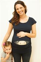 חולצות הריון קוקובו שרוול קצר תינוק מציץ